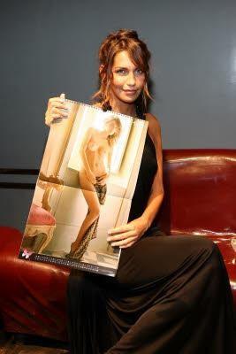 Presentazione Calendario 2008 MAx con Debora Salvalaggio